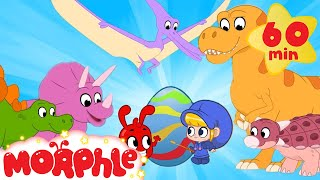 Dinosaur Easter Eggs - Learn Colors with Morphle   Cartoons for Kids   Morphle TV