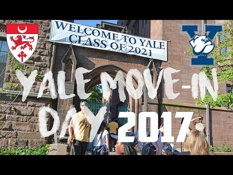 COLLEGE MOVE-IN DAY 2017 // YALE UNIVERSITY