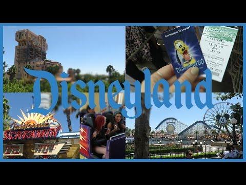 My first trip to Disneyland!