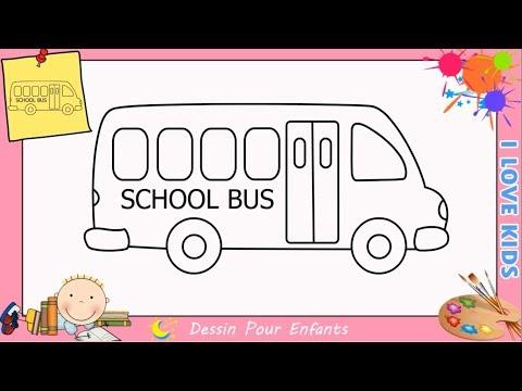 Comment Dessiner Un Bus Facilement Etape Par Etape Pour