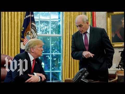 A look back at John Kelly's relationship with President Trump