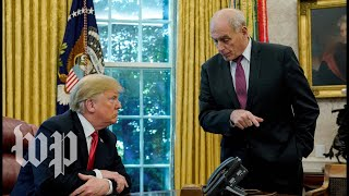 A look back at John Kelly\'s relationship with President Trump