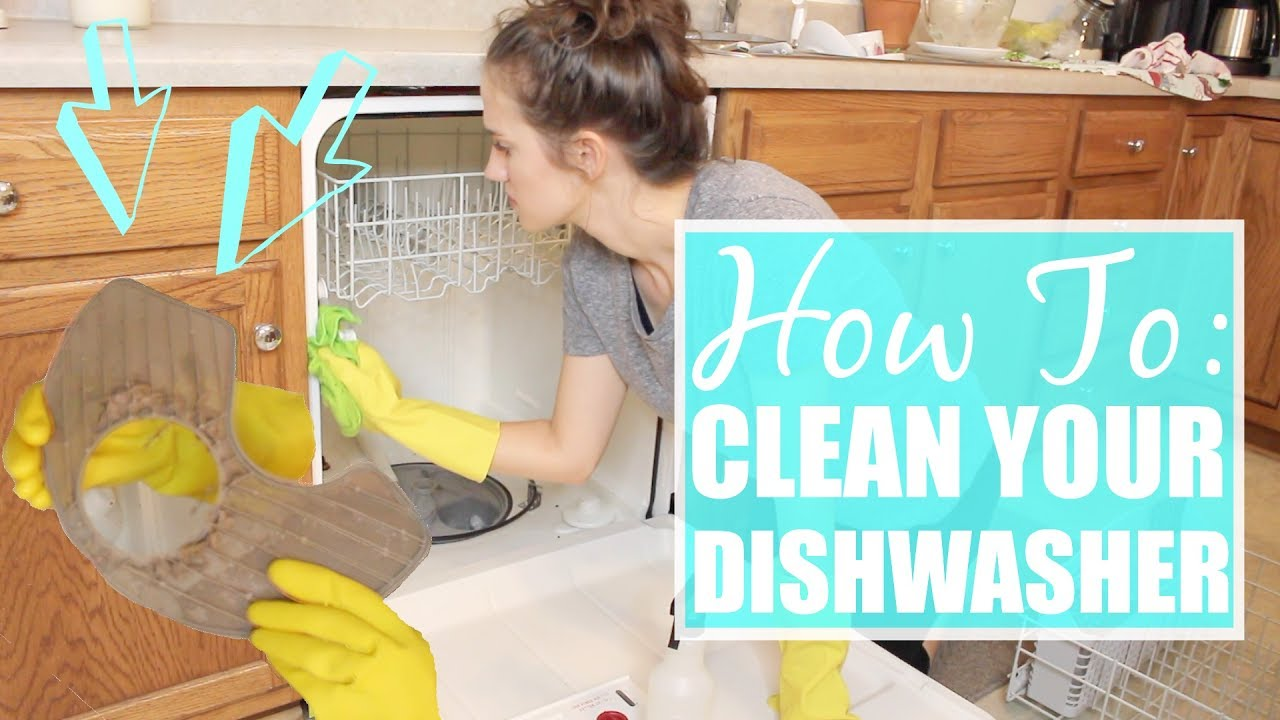 How To Deep Clean Your Dishwasher The Simple Life Allie Gooch