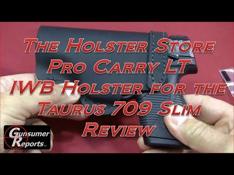 The Holster Store Pro Carry LT Taurus 709 Slim IWB Holster Review