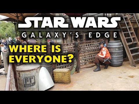 Galaxys Edge opens peacefully and quietly? - Disneyland News 2019/06/25