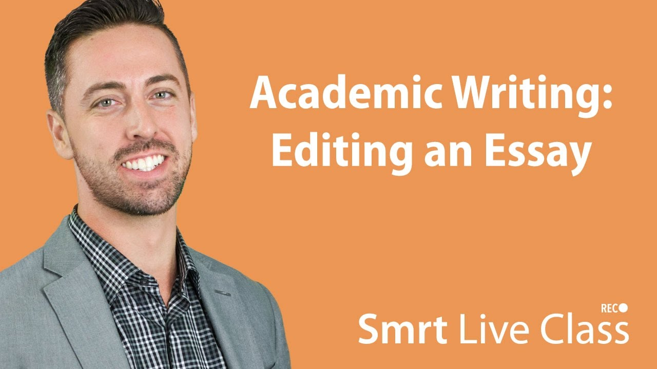 purpose of editing writing
