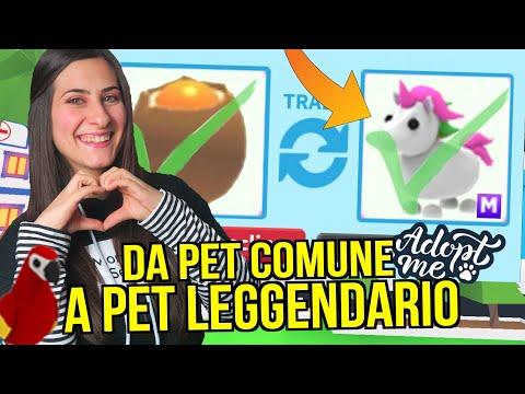 Come SCAMBIARE da PET COMUNE a LEGGENDARIO 😱 Roblox ADOPT ME ITA By FrancyDreams