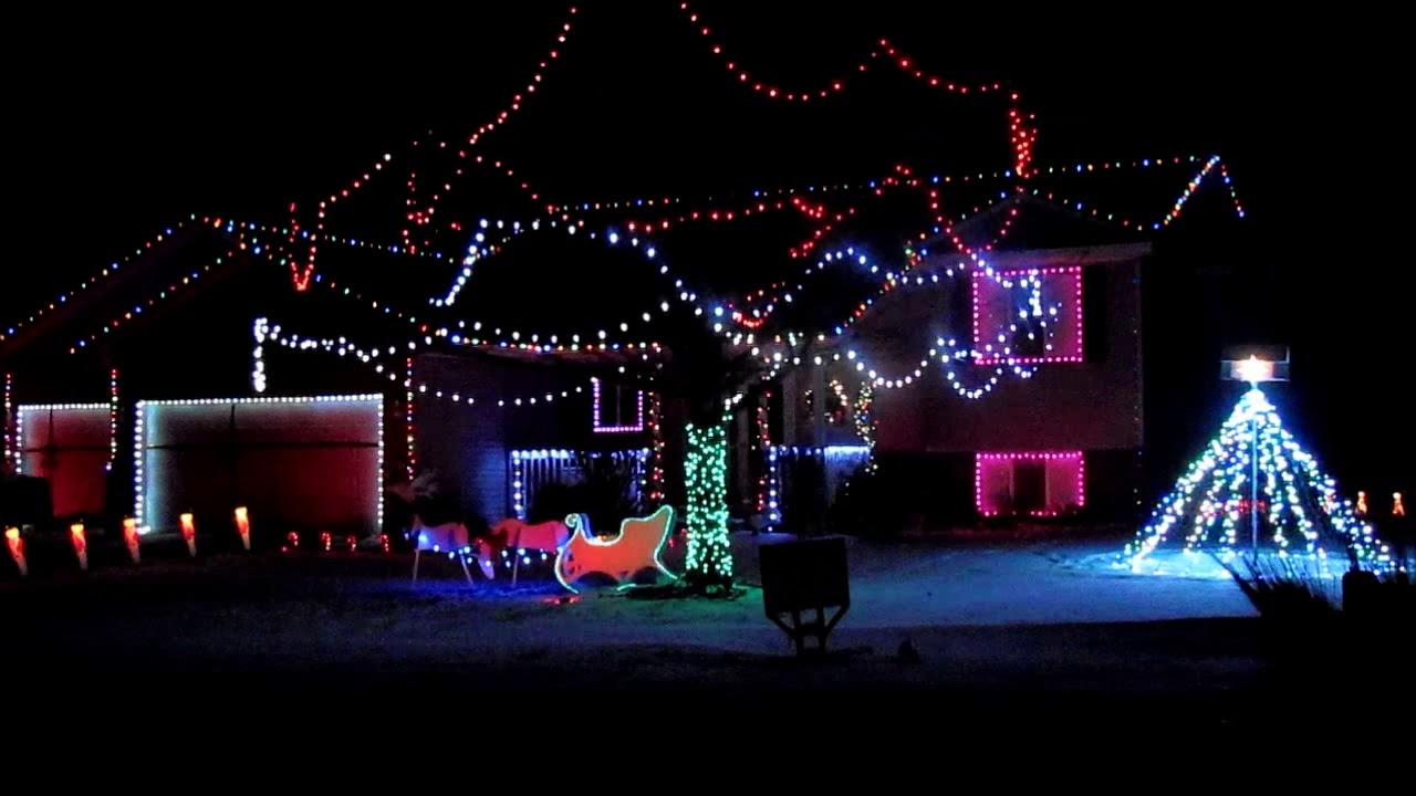 the flash christmas light show