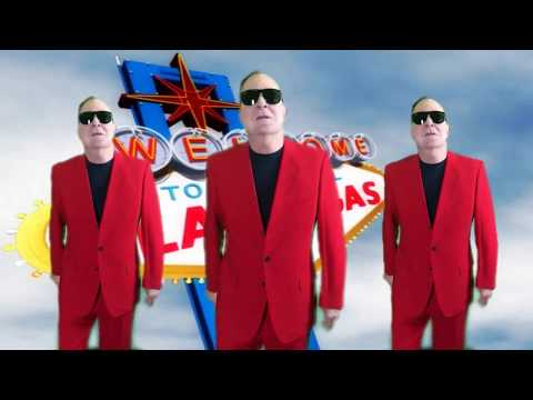 Fred Schneider & the Superions - Glitter Gulch (Official Music Video)