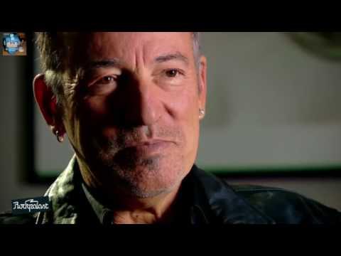 Bruce Springsteen  - Interview @ Rockpalast BACKSTAGE