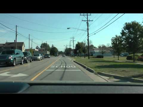 driving through West Chester, Ohio and Mason, Ohio in August 2013