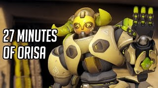 Datto Plays Orisa, New Overwatch Hero, For 27 Minutes