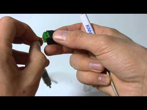 Подключение трехпроводного микрофона к видеорегистратору