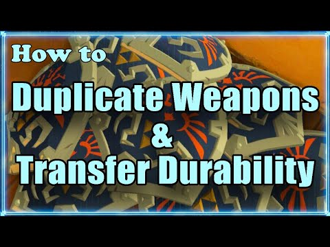 How to Transfer Durability, Duplicate & Repair Weapons and Overload the Menu BotW