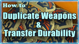 Botw Duplicate, Transfer Durability & Repair Weapons, Bows & Shields