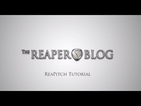 ReaPitch Tutorial