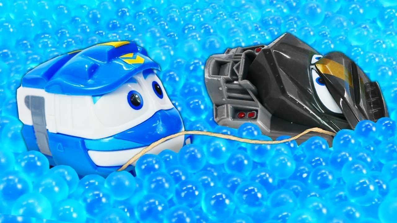 Мультфильмы про игрушки и машинки — Роботы-поезда Кей и ...