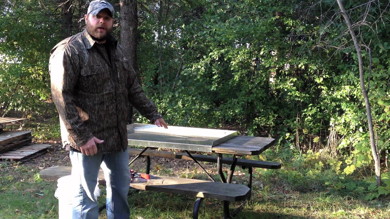 Awesome Picnic Table Stainless Steel Addon YouTube - Stainless steel picnic table