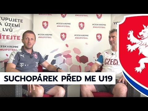Trenér Jan Suchopárek před zahájením ME U19 2017 v Gruzii (30. 6. 2017)