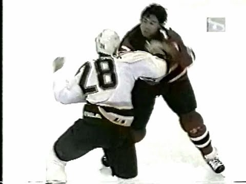 Randy McKay Vs Dean Chynoweth & Boston Bruins Vs New Jersey Devils Brawl 1996