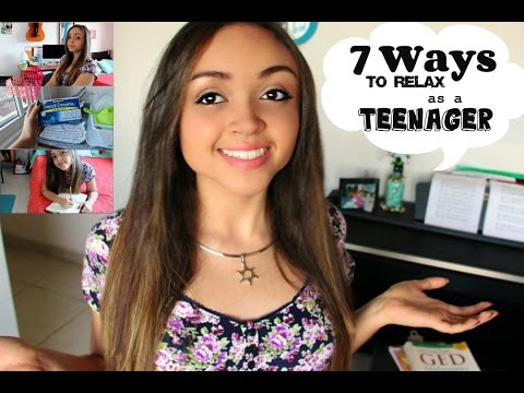 7 Ways To Relieve Stress as a Teenager