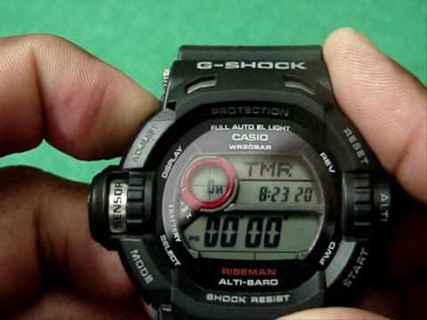 16f362836e6 G SHOCK G-9200 RISEMAN - YouTube