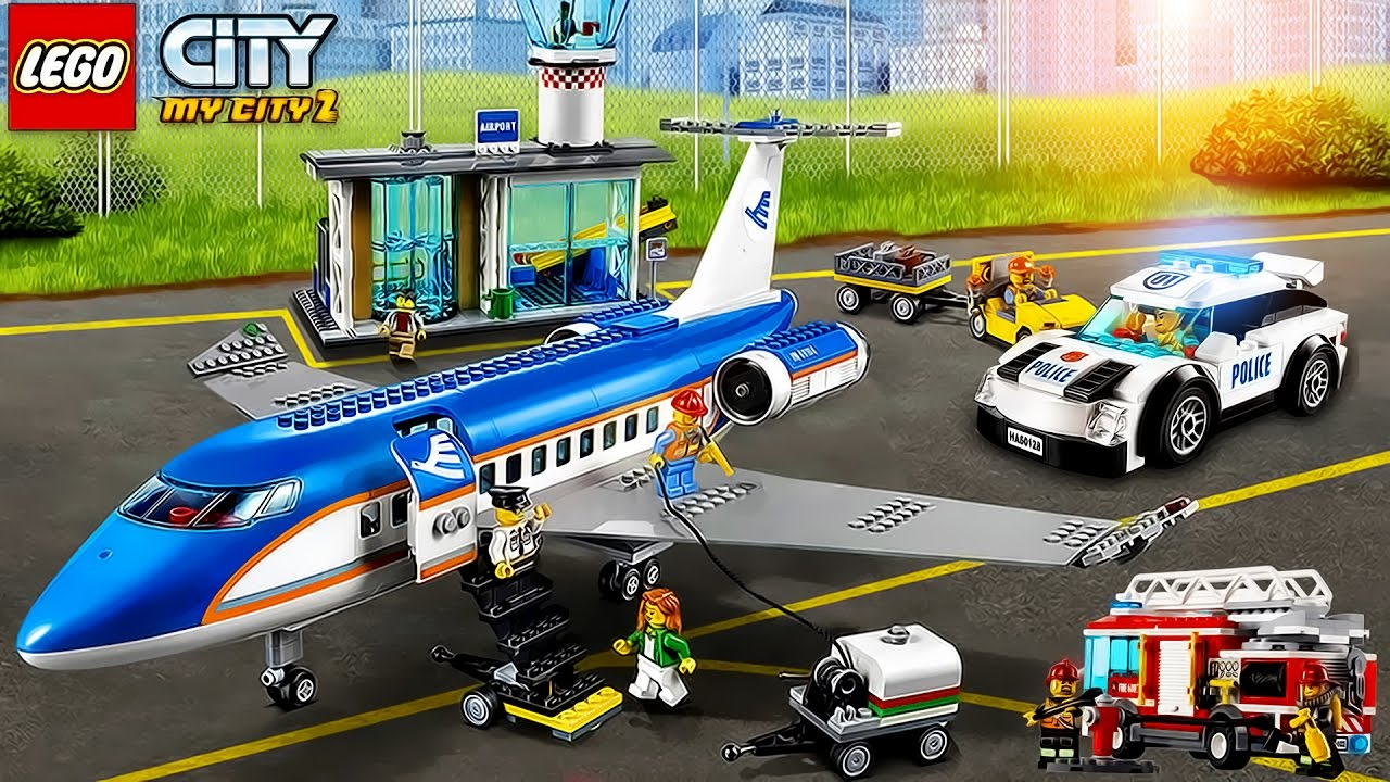 Lego Game My City 2 New Airport Youtube