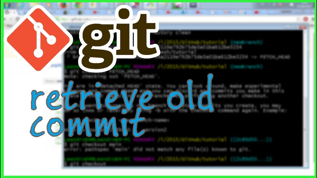 pull a specific commit of git