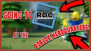 I'M GOING TO ROBLOX HEADQUARTERS??? (RDC 2018)