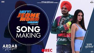 Jatti Jeone Morh Wargi (making) Sidhu Moose Wala feat Sonam Bajwa | Ardab Mutiyaran 18th Oct