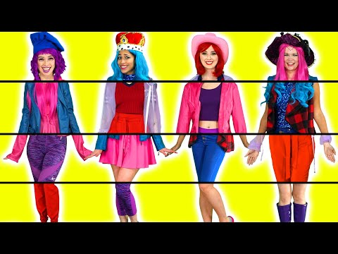 MIXED UP CLOTHING THE SUPER POPS SWITCH OUTFITS UP MYSTERY CHALLENGE Totally TV Originals