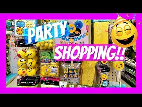 Shopping At Hobby Lobby Emoji Party / Lip Gloss  2017