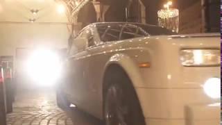 Пэрис Хилтон в Москве на Rolls Royce от компании RR001