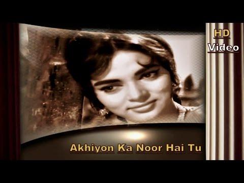 Akhiyon Ka Noor Hai   Suhane Pal   Johar Mehmood In Goa 1965   HD