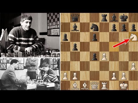 Bobby Fischer's First Victory against a Soviet Grandmaster (16 years old)