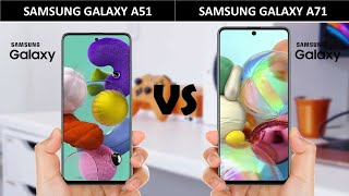 Samsung Galaxy A51 vs Samsung Galaxy A71