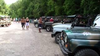Путешествие на джипах по Крымским горам.Travel by jeep on the Crimean mountains.(, 2013-08-12T10:16:20.000Z)