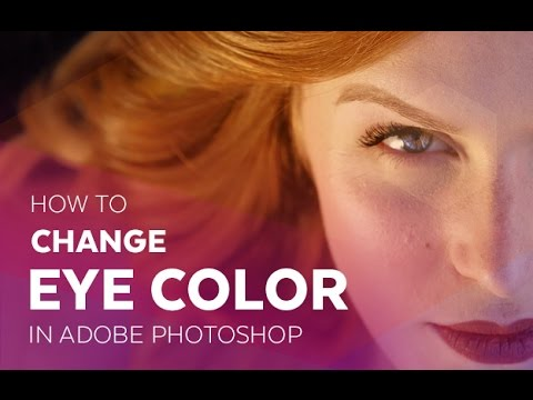 how to change eye color in photoshop cs5
