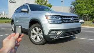 2018 Volkswagen Atlas SE: Start Up, Test Drive, Walkaround and Review