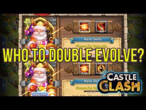 Santa Boom With Life Drain Or Wargod Double Evolve Castle Clash