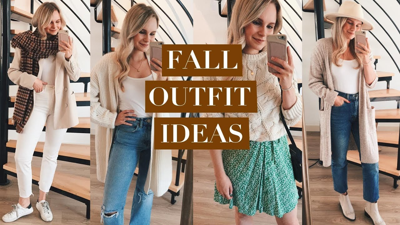 [VIDEO] - CASUAL FALL OUTFIT IDEAS 2019 | ANDREACLARE 4