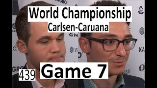 Carlsen-Caruana ¦ Game 7 ¦ 'A Misplayed Game with White!'