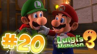 Luigi's Mansion 3 Gameplay !! Walkthrough # 20 Master Suite 15F & Rescuing Mario !! ᴴᴰ