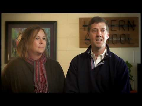 Parents Lori and Scott Discuss Havern School