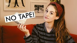 How to Wrap a Gift with No Tape | Zero Waste & Compostable Gift Wrap!