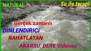 AKARSU SESİ#huzur#veren#video#su#sesi#şelale#nehir#dere#dinle#pişpiş#dinlendirici#uyku#getiren#ninni