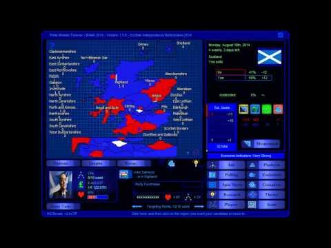 Scottish Independence Referendum 2014 Election Game (Yes)