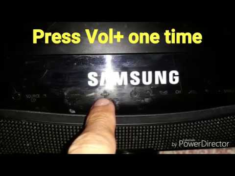 Turn off Demo Store Mode on Samsung Series TV without remote