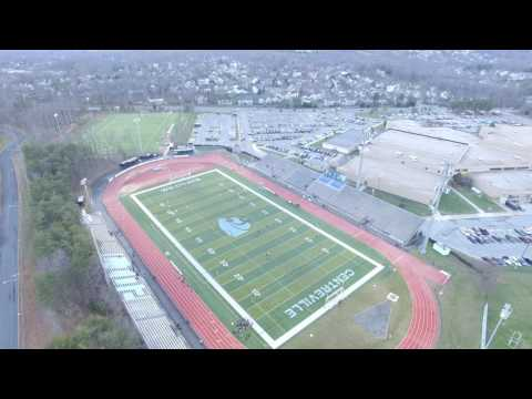 Centreville High School from Above - Phantom 3 4K