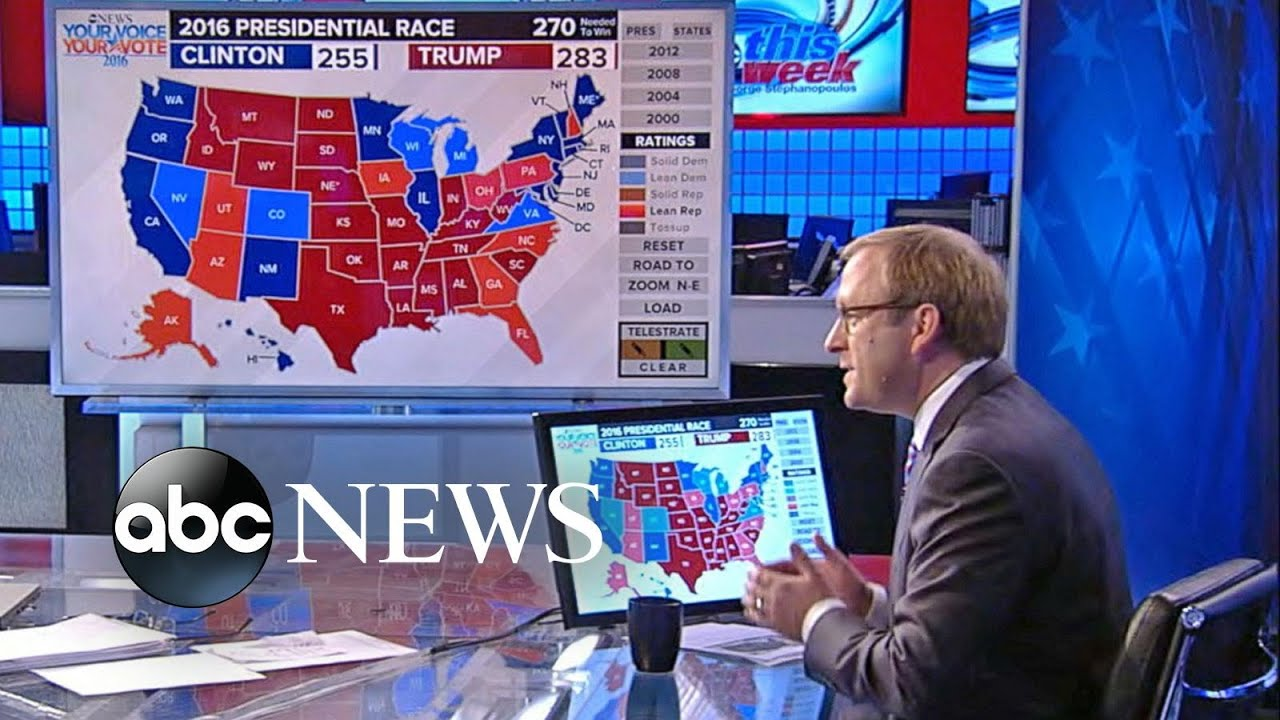 Election 2016   Breaking Down the Electoral Map   YouTube